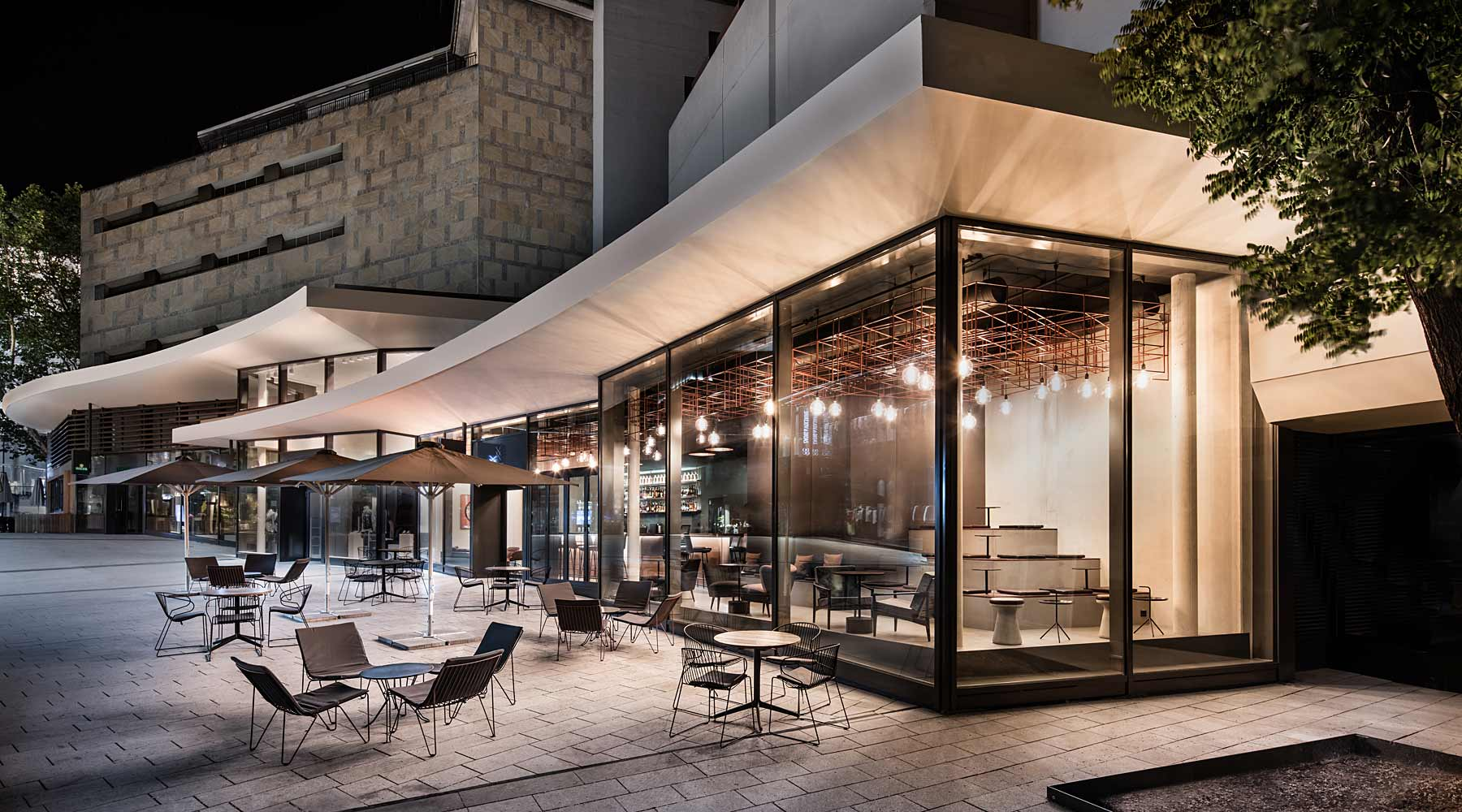 Eduard 39 s dorotheen quartier shopping essen trinken for Gastro architektur